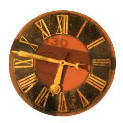 """54"""" Diameter Antique Clock Face"""