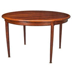 Niels Moller for J Moller #15 Rosewood Table with Butterfly Leaf