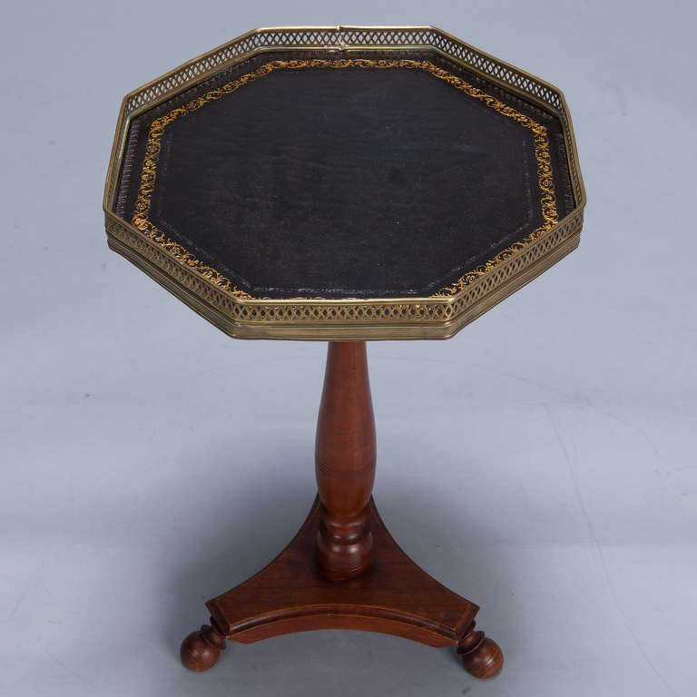 This Small French Galleried Side Table Is No Longer Available