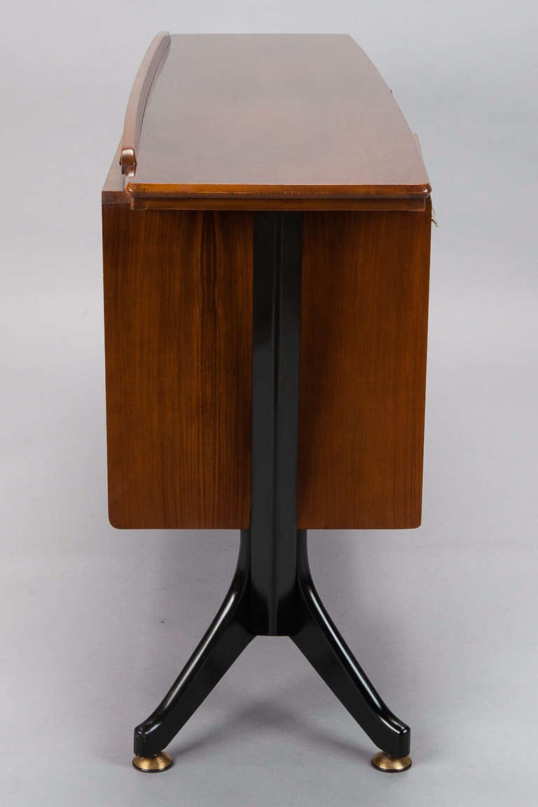 image of bar cabinet with legs