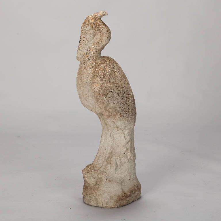 Tall Stone Garden Heron 2