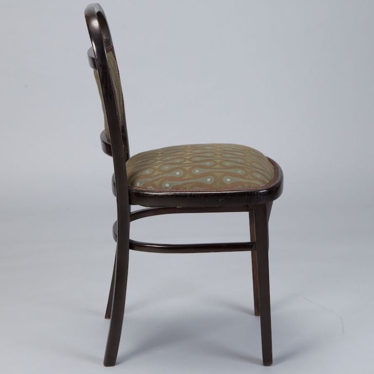 20th Century Set of Four Otto Wagner Chairs For Sale
