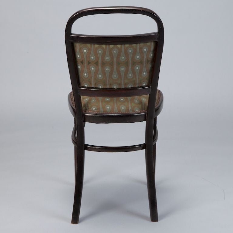 Set of Four Otto Wagner Chairs For Sale 1