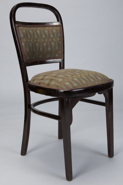 Set of Four Otto Wagner Chairs For Sale 3