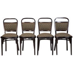 Set of Four Otto Wagner Chairs