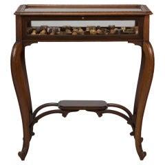 Walnut Bijouterie Table