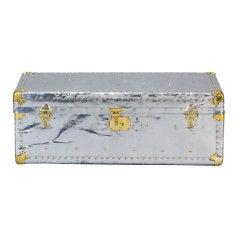 Medium Aluminum Covered Trunk