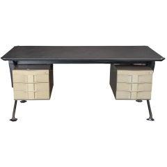 Mid Century Arco Series Desk by Studio BBPR for Olivetti