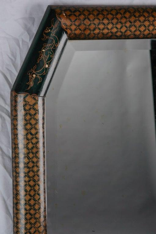 Long Narrow Chinoiserie Mirror At 1stdibs
