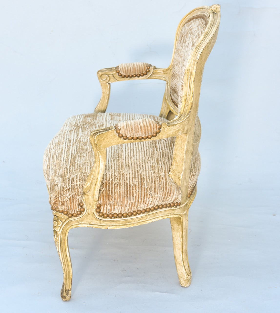 Diminutive Child Sized Louis Xv Painted Settee For Sale At 1stdibs