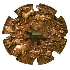Mid-Century Zodiac Mirror