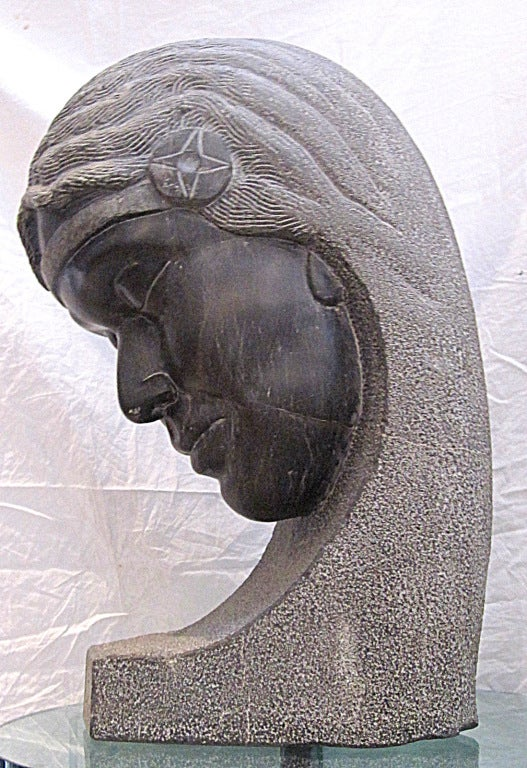 Stunning French Art Deco Marble Sculpture At 1stdibs