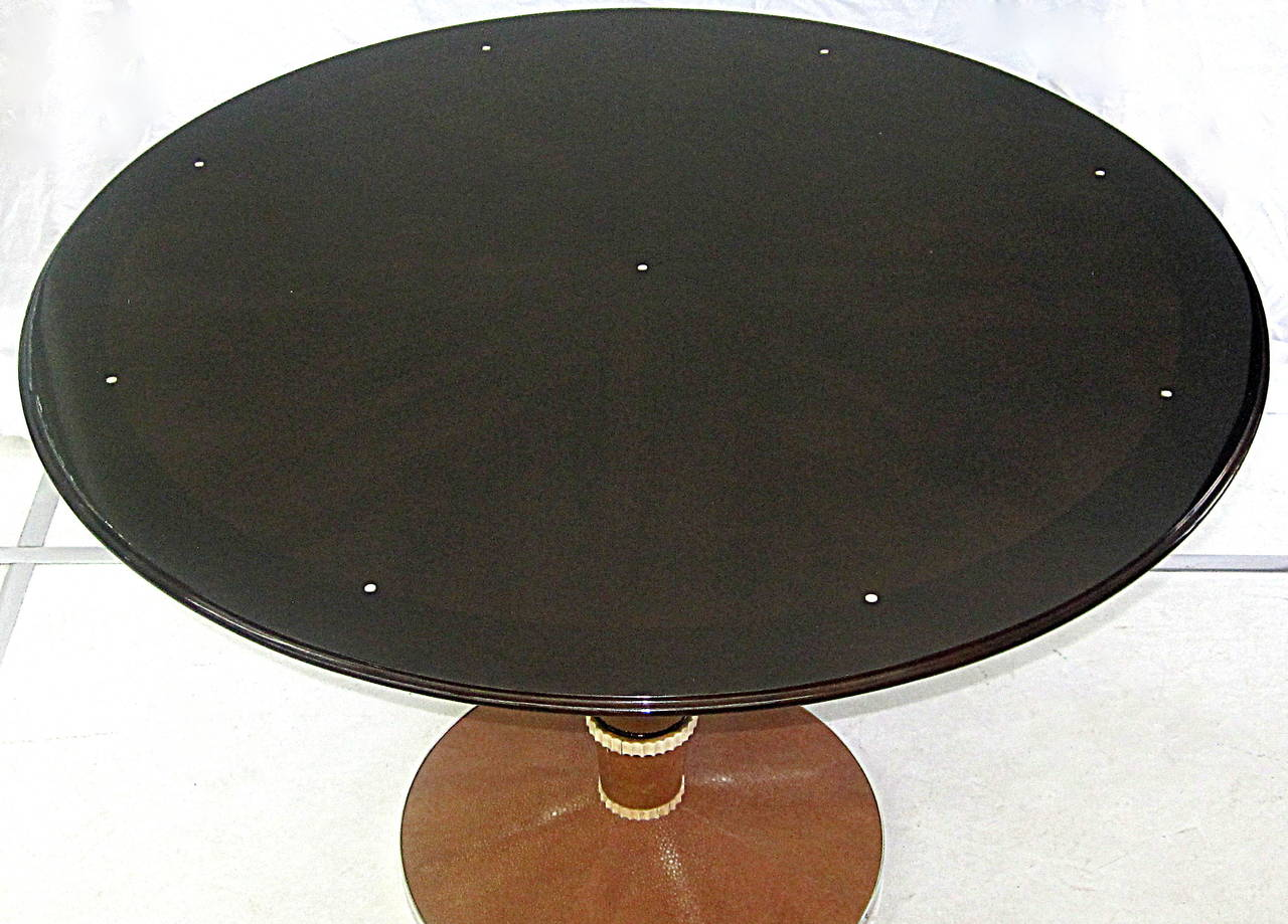 Saddier French Art Deco Table In Good Condition For Sale In Miami, FL