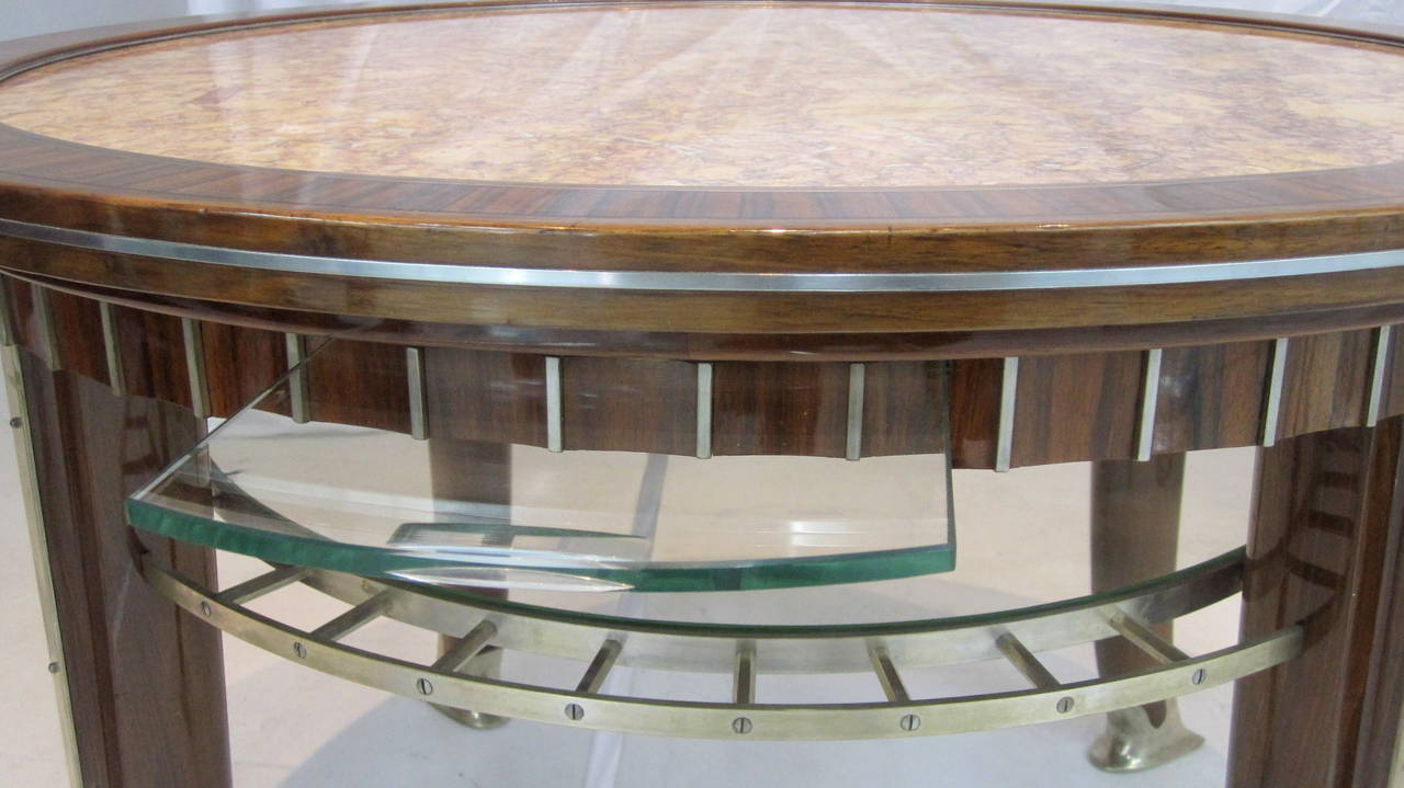 Modernist french art deco cocktail table by djo bourgeois for sale at 1stdibs - Deco house bourgeois ...