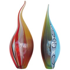 Glass Art Vessels by Afro Celotto