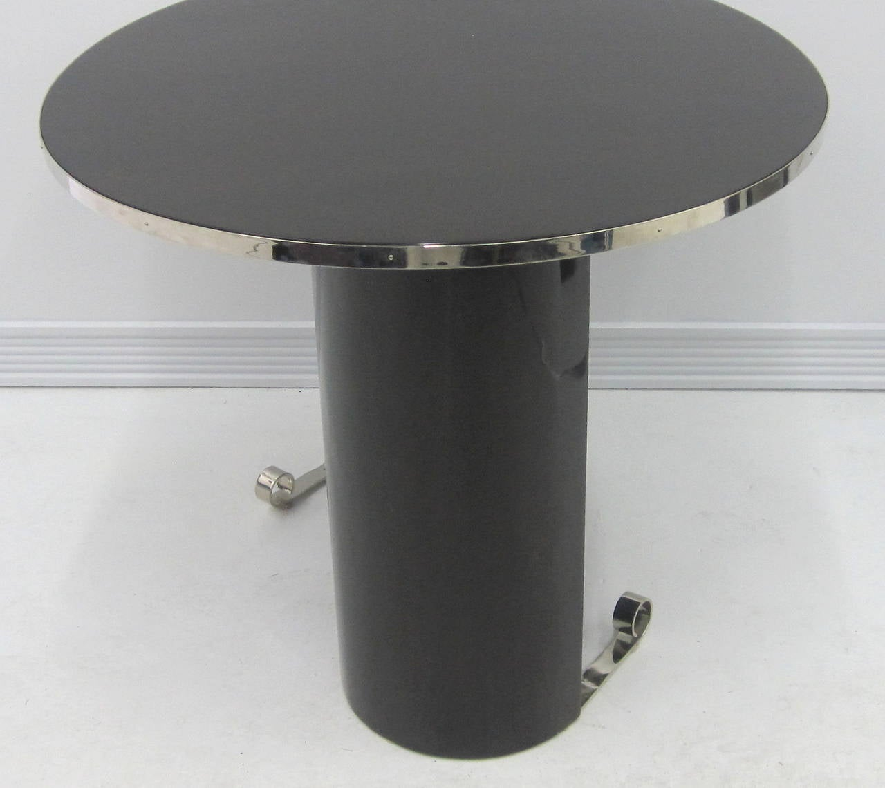 Mid-20th Century French Modernist Art Deco Table For Sale