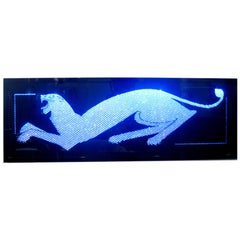 Crystal  Panther Wall Art