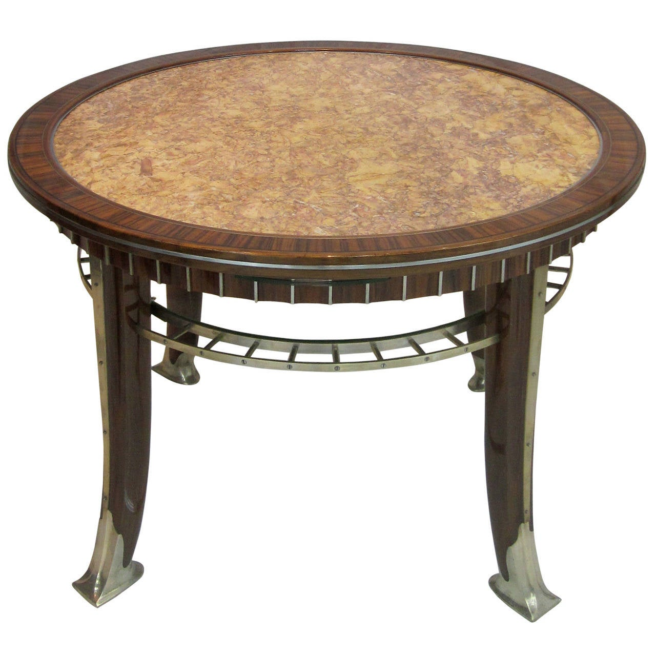Modernist French Art Deco Cocktail Table By Djo Bourgeois For Sale At 1stdibs
