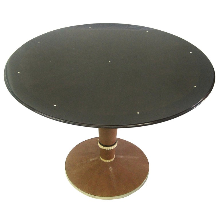 Saddier French Art Deco Table For Sale