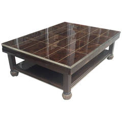 French Art Deco Krass Coffee Table