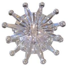 """Lalique  Exceptional """"Soliel"""" Door Knob"""