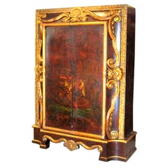 17th Century Jean Baptiste Pillement Style Chinoiserie Armoire