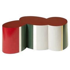 Unique Piece / RED CLOUD Table / Guy de Rougemont / 1970