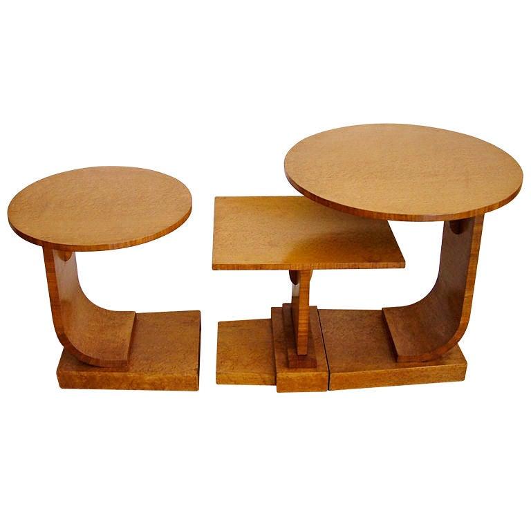 1930s Modernist Nest Of Tables At 1stdibs