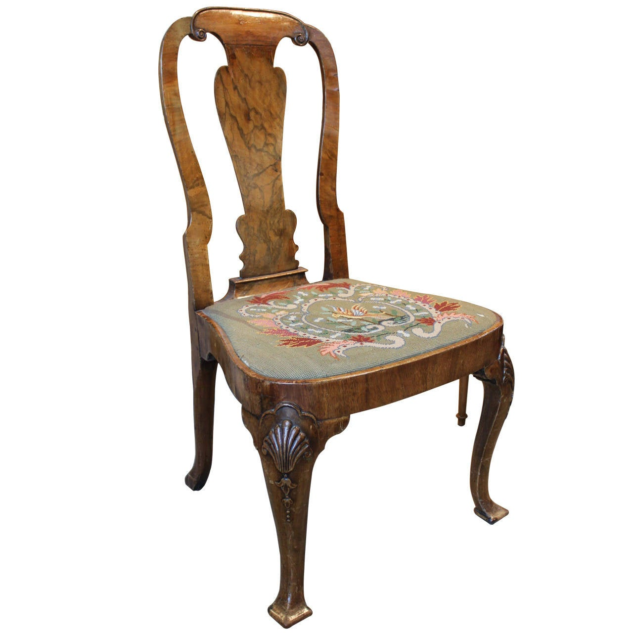 Eighteenth Century Period Side Chair At 1stdibs