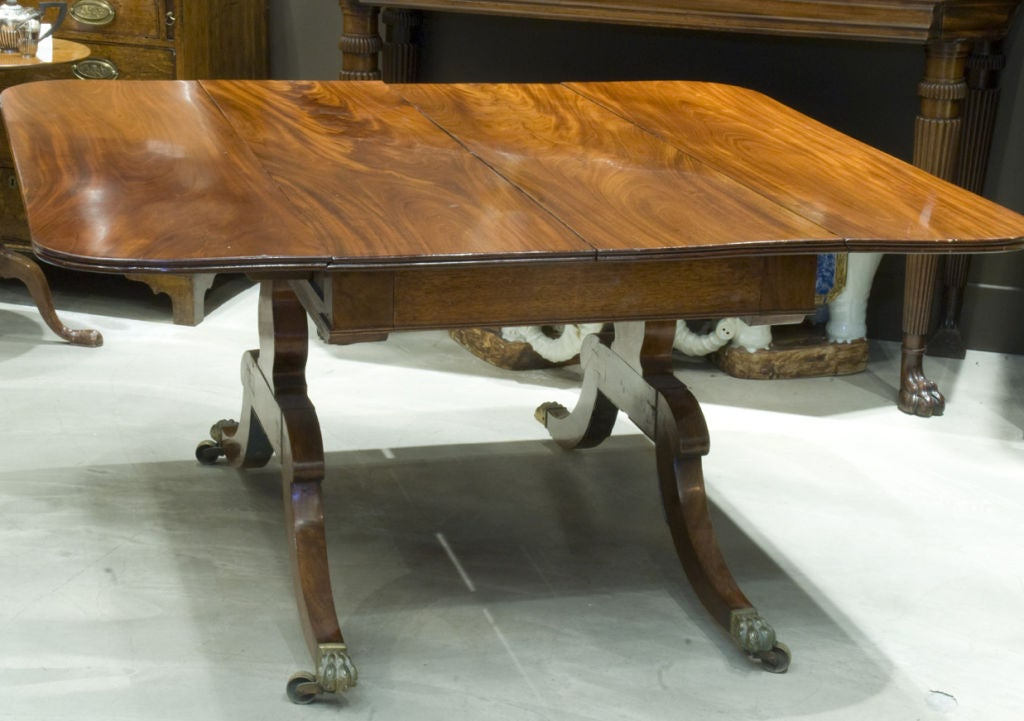 Period george lll extending table seats 14 at 1stdibs for 14 seater dining table