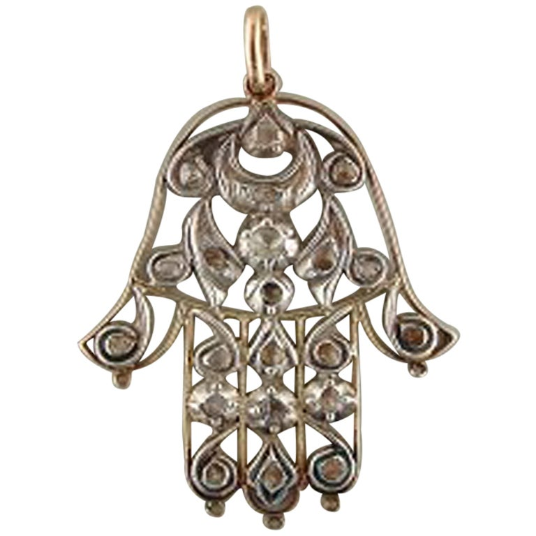 Antique Hamsa/Yad/Hand of Fatima/hand of Mary/... at 1stdibs