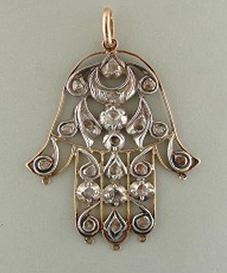 Antique Hamsa/Yad/Hand of Fatima/hand of Mary/... at 1stdibs