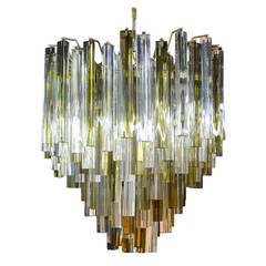 Murano Glass Chandelier by Camer