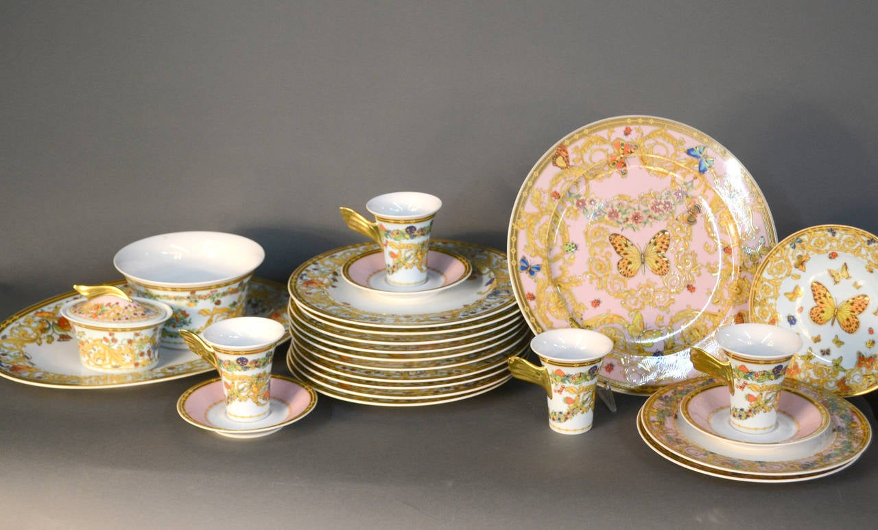 Le Jardin De Versace China Dinnerware Set 2