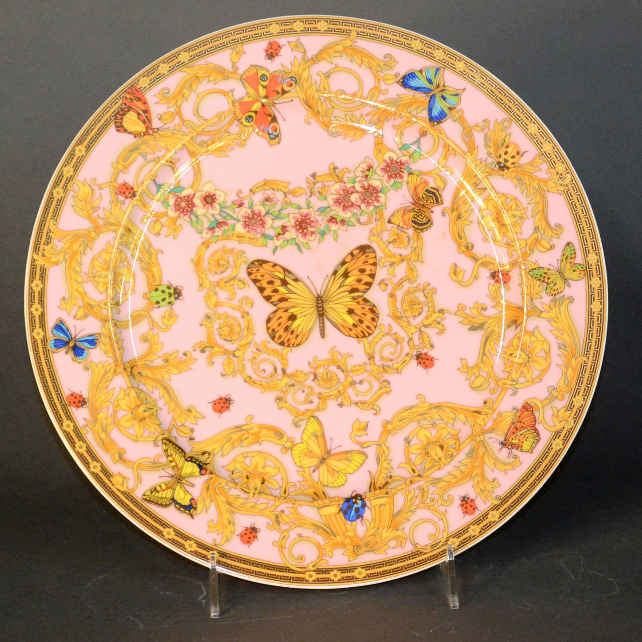 Late 20th Century Le Jardin de Versace China Dinnerware Set For Sale & Le Jardin de Versace China Dinnerware Set at 1stdibs