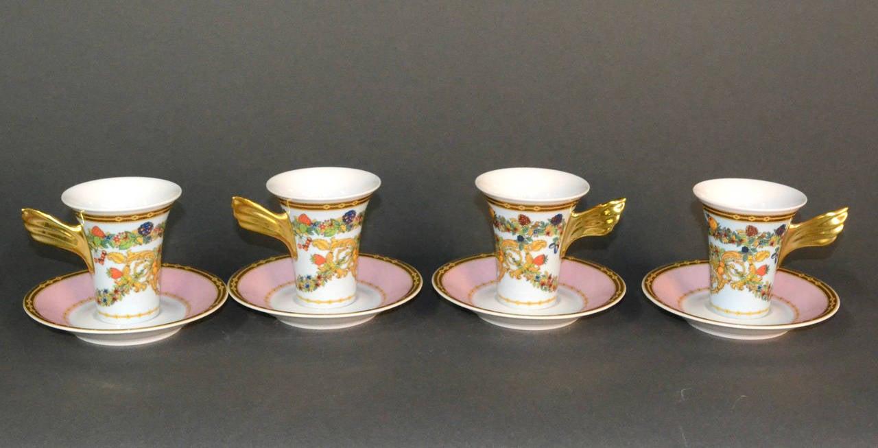 Le Jardin de Versace China Dinnerware Set For Sale 2 & Le Jardin de Versace China Dinnerware Set at 1stdibs