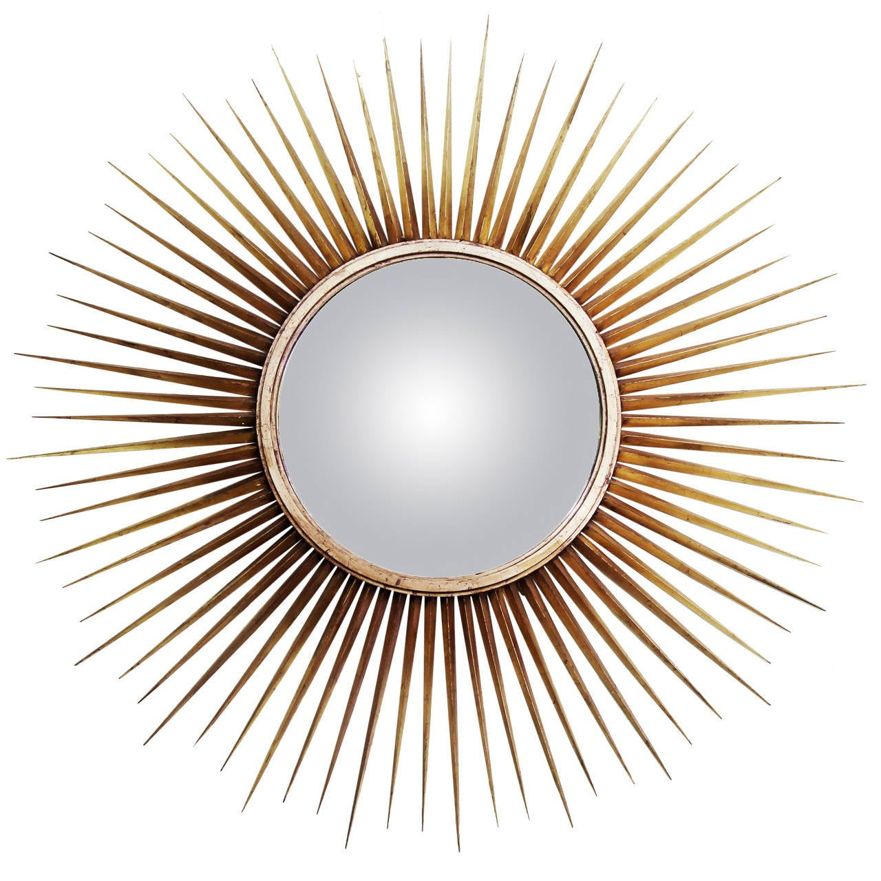 Sunburst Mirror By Mark Scharillo For Albert Hadley For