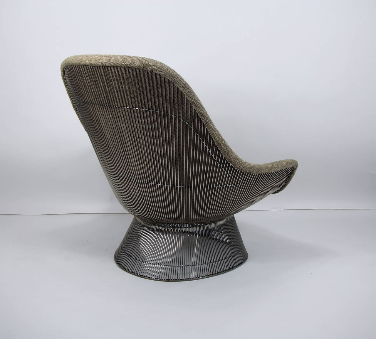 this warren platner for knoll easy chair lounge and ottoman is no