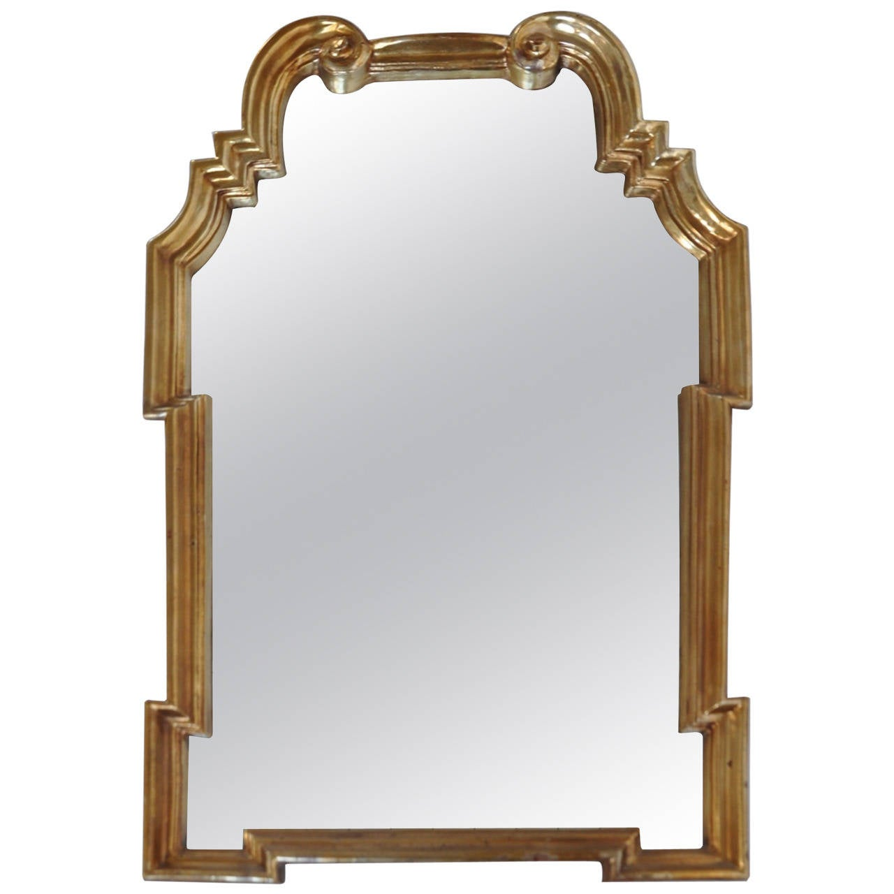 Gold Leaf Mirror by Labarge
