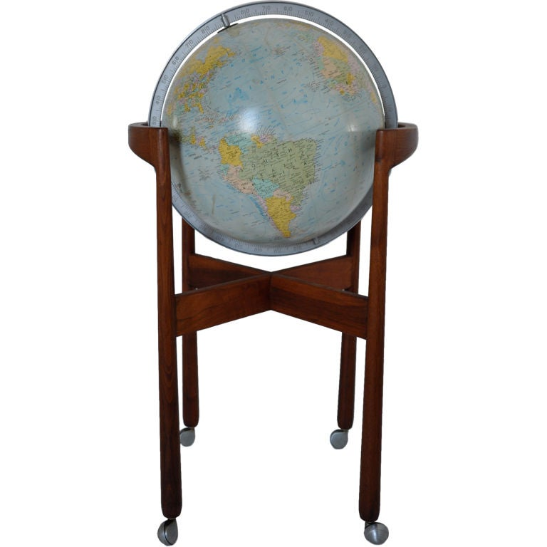 Library globe jens risom at 1stdibs for Chinese furniture norwalk ct