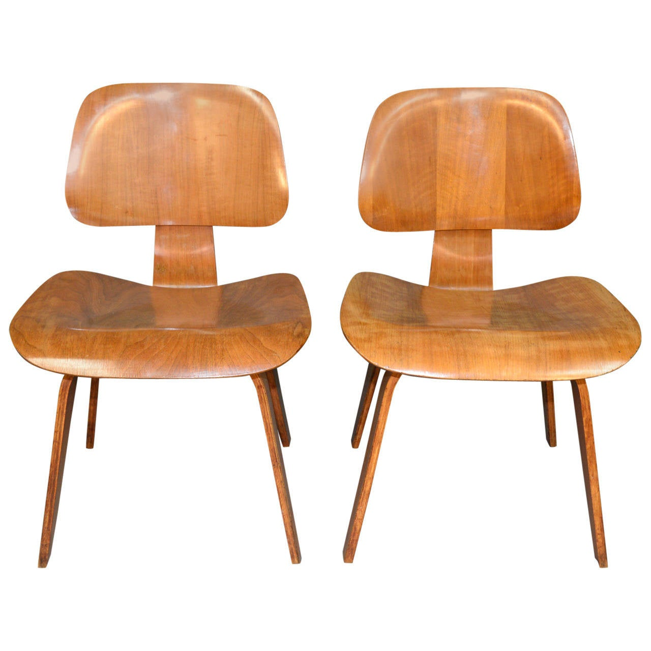 Charles and ray eames pair of dcw chairs at 1stdibs - Charles eames and ray eames ...