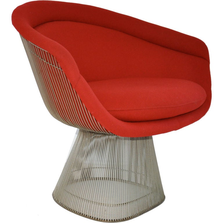 lounge chair warren platner at 1stdibs