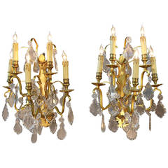 Pair of Gorgeous Louis XV French Sconces