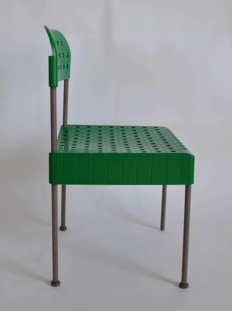 Rare Quot Box Chair Quot By Enzo Mari At 1stdibs
