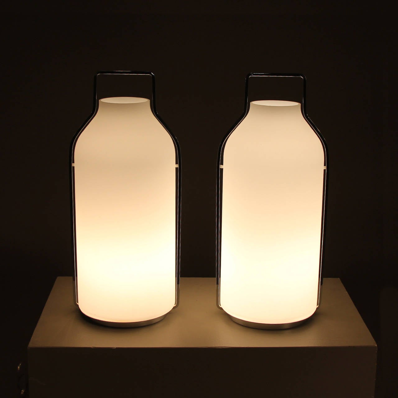 Pair Of Eric Jourdan Somerset Lamps For Ligne Roset At 1stdibs