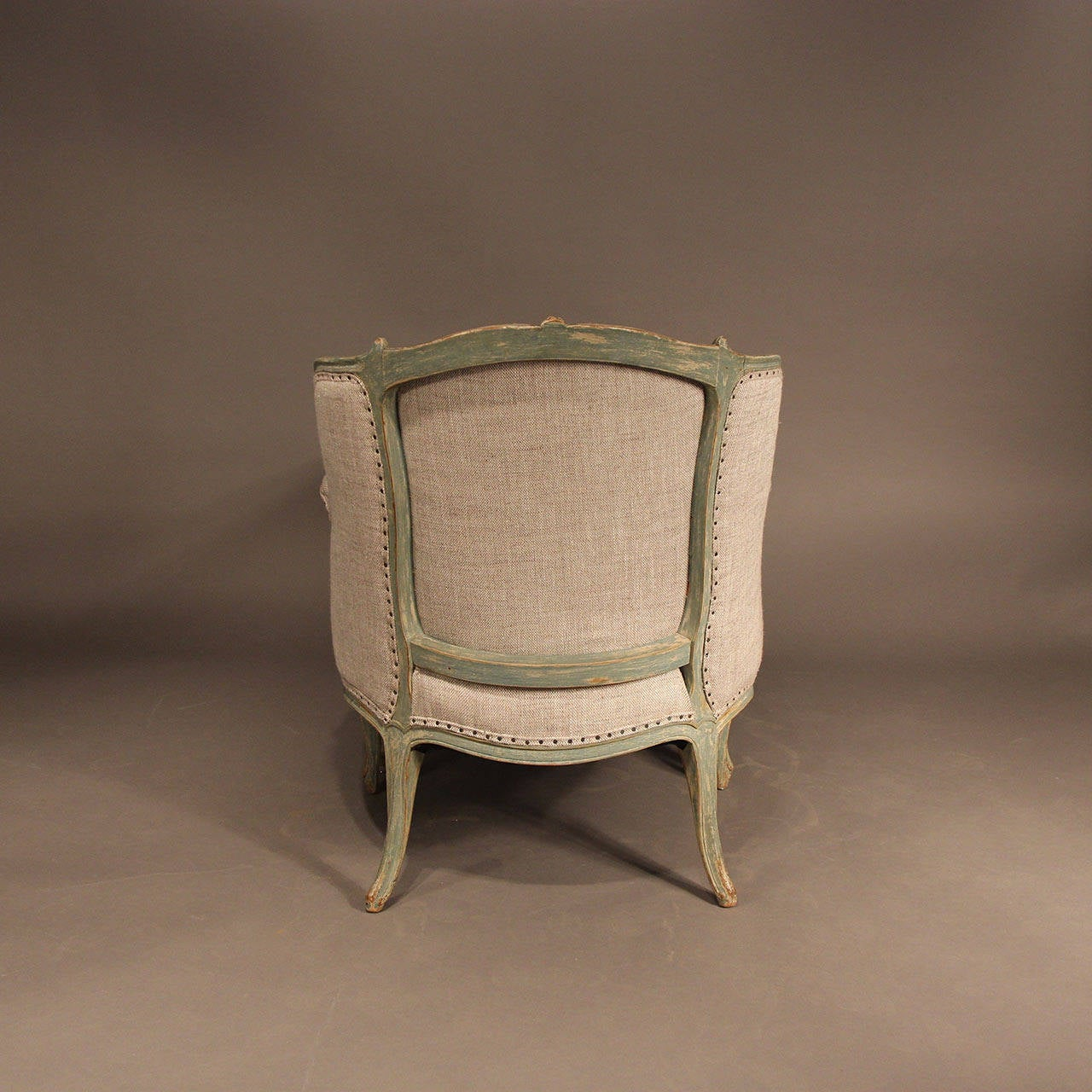 French louis xv style duchesse brisee chaise at 1stdibs for Chaises louis xv cannees