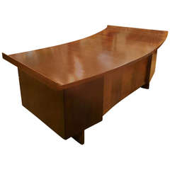 Semicircular Executive Desk