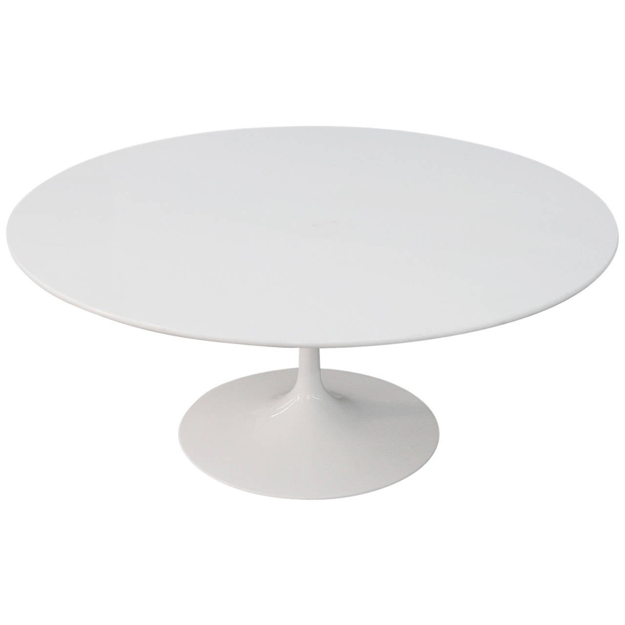 Marble Top Knoll Eero Saarinen Tulip Coffee Table At 1stdibs