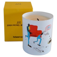 """Dragon"" Candle- Jean-Michel Basquiat"