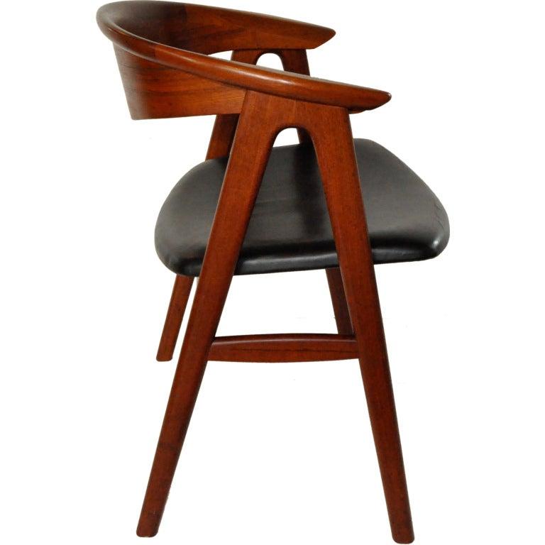 Desk Chair - Erik Kirkegaard at 1stdibs